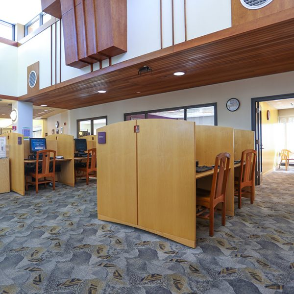 Westlake Village Library studying areas