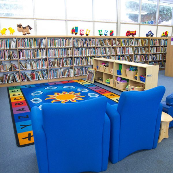 Wiseburn library childrens play area