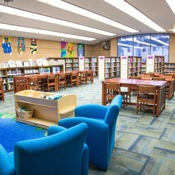 Woodcrest Library Sitting area