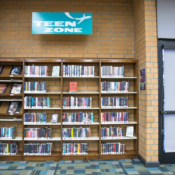 Woodcrest Library teenager area