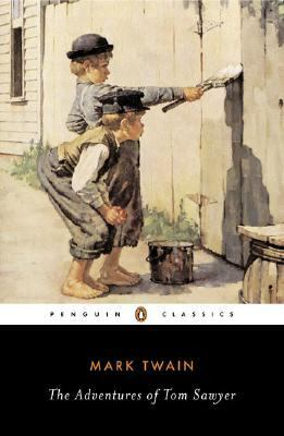 The Adventures of Tom Sawyer (book cover)