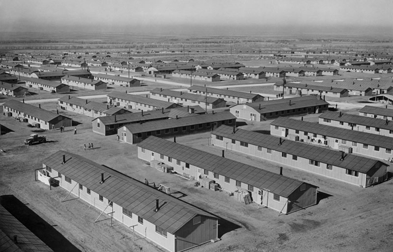 Japanese relocation camp