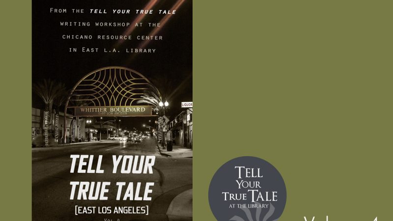Tell Your True Tale volume 4 cover and logo