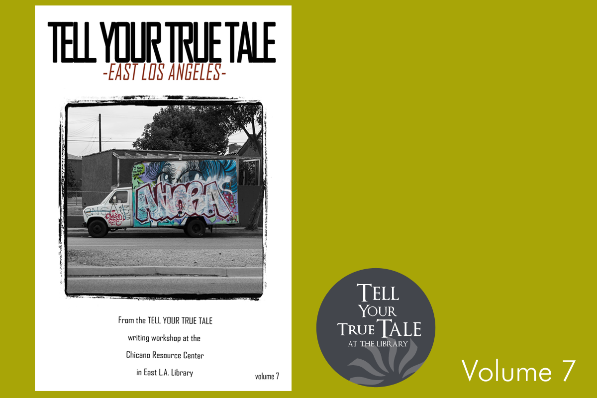 Tell Your True Tale volume 7 cover and logo