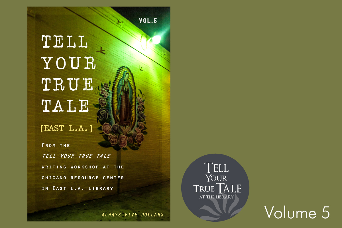 Tell Your True Tale volume 5 cover and logo