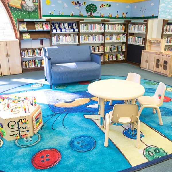 Huntington Park Library childrens area