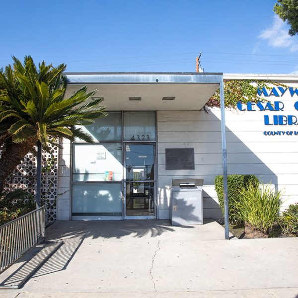 Maywood Cesar Chavez Outside view