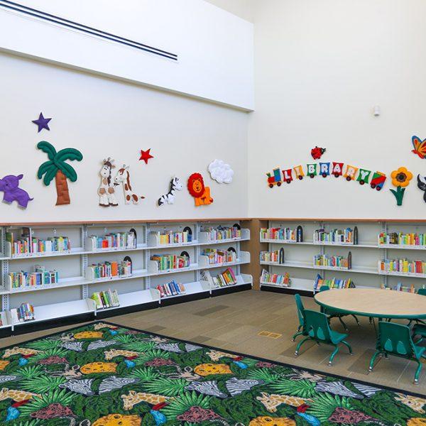 Pico Rivera Library childrens area