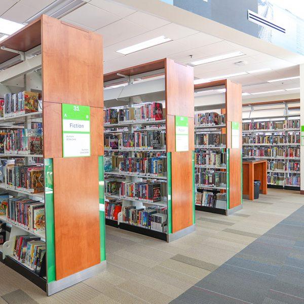 Pico Rivera Library overview