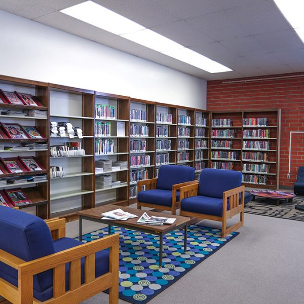 Rivera Library sitting area