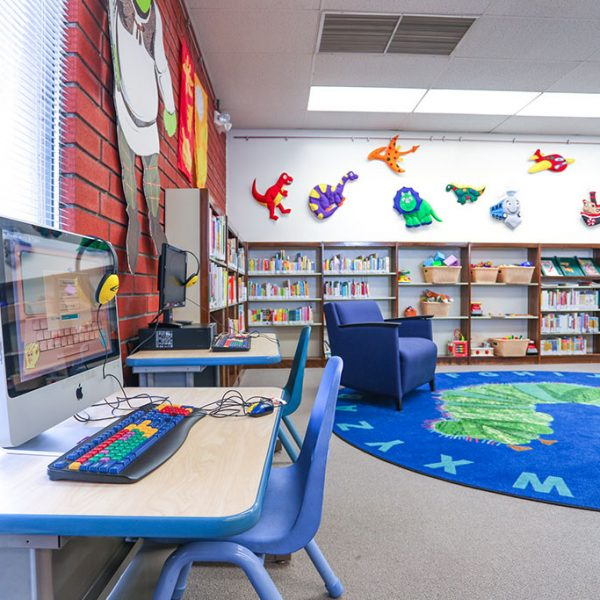 Rivera Library childrens area