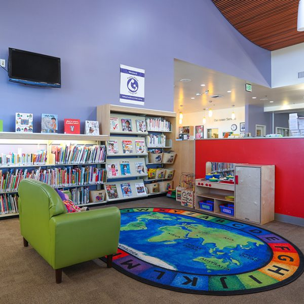 Sorensen Library childrens area
