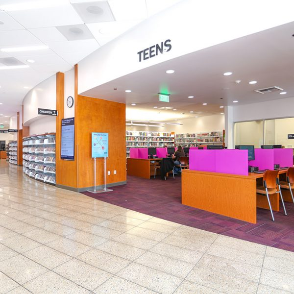 Stevenson Ranch Library teen area