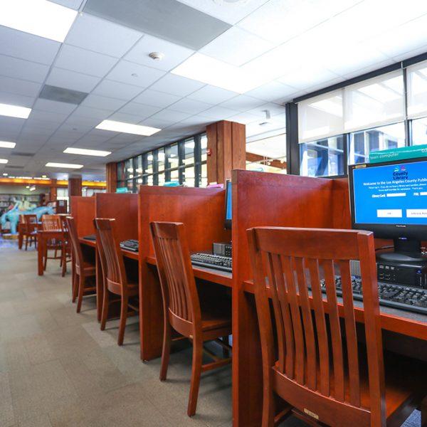 Topanga Library Computers