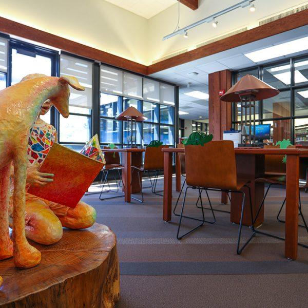 Topanga Library childrens area