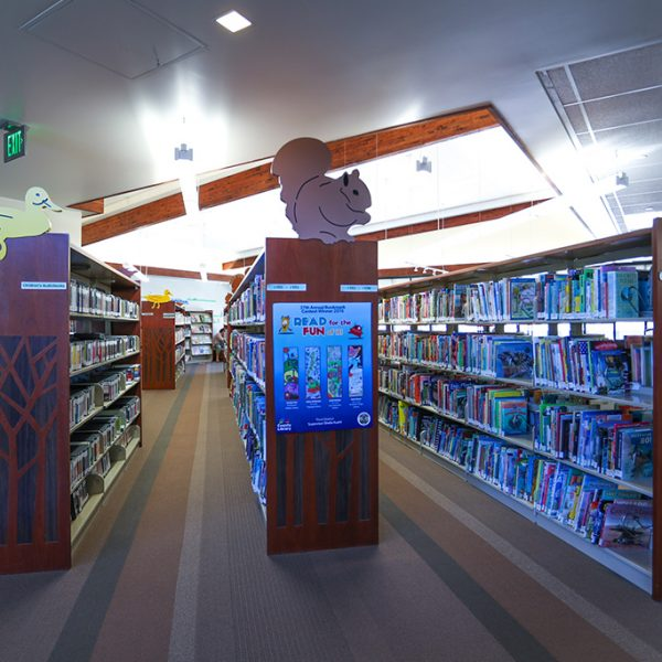 Topanga Library teen area
