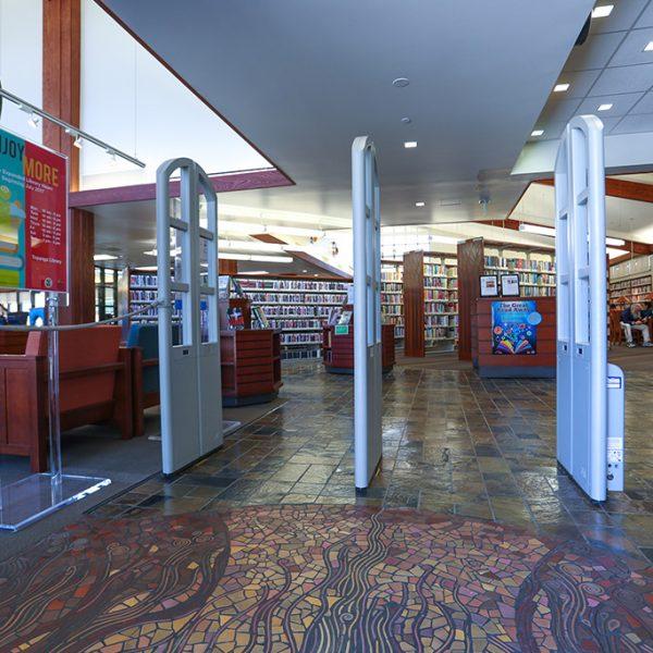 Topanga Library Entrance