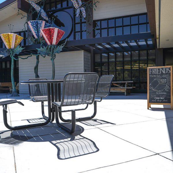 Topanga Library patio