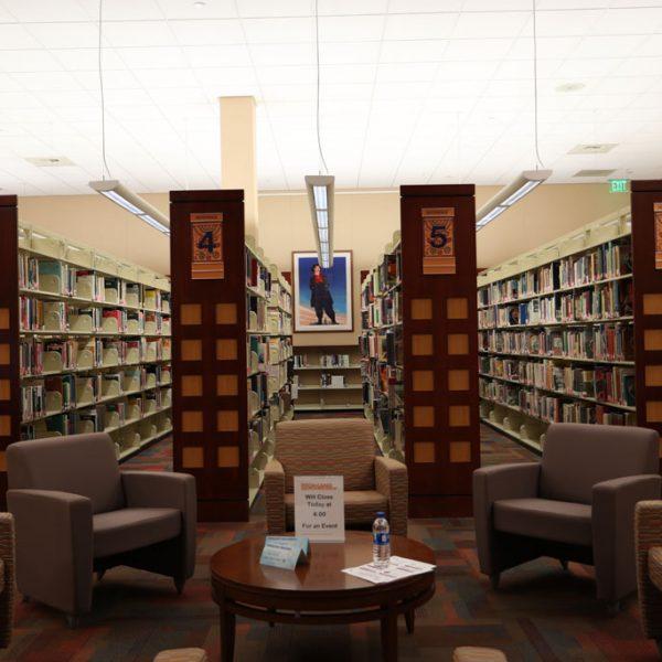 Chicano Resource Interior Bookcases