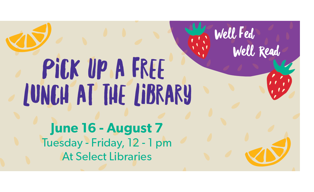 Enjoy Free Lunch at the Library