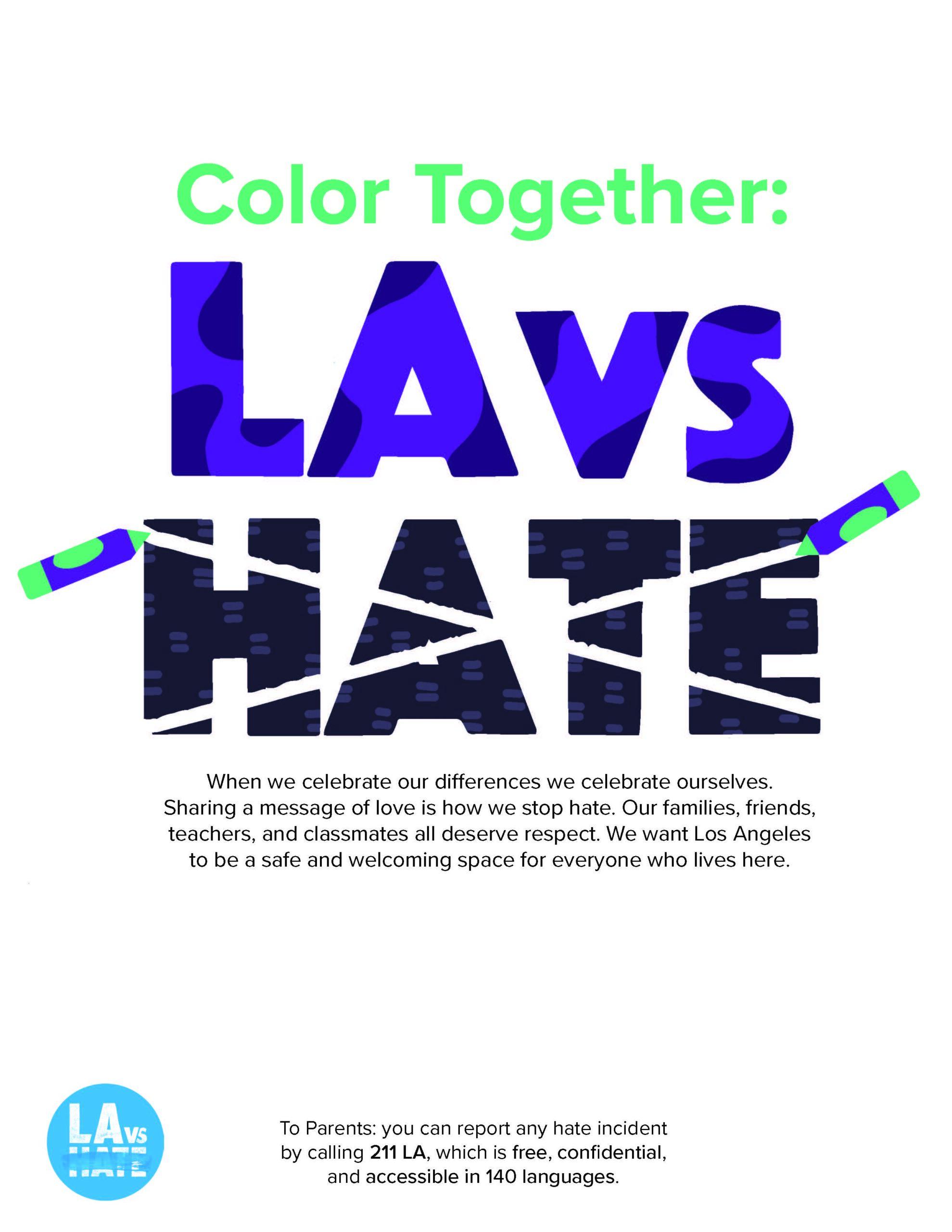 Color Together: LA vs. Hate